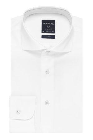 Profuomo wit katoenen overhemd