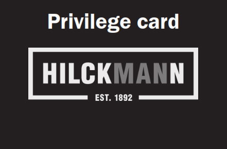 Hilckmann Privilege Card