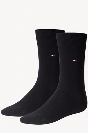 tommy hilfiger sokken 2-pack donkerblauw