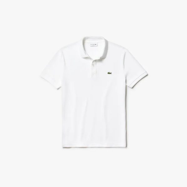 lacoste slim fit polo wit