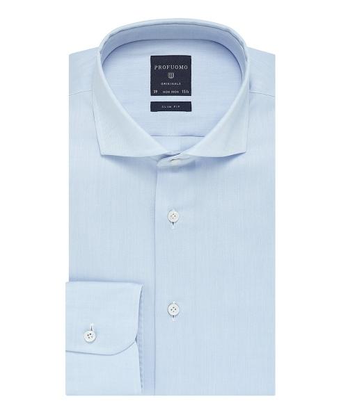 Profuomo originale overhemd lichtblauw