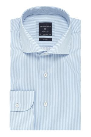 profuomo-originale-twill-overhemd-lichtblauwe-streep