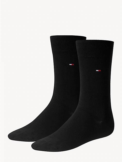 tommy hilfiger sokken 2-pack zwart