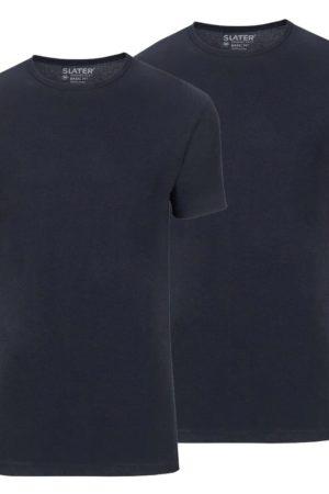 slater-tshirts-navy-ronde-hals