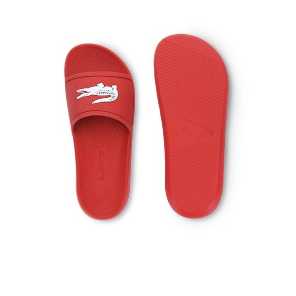 lacoste badslippers rood