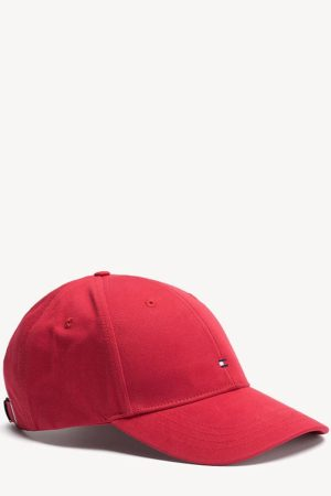 tommy hilfiger klassieke baseball pet apple red